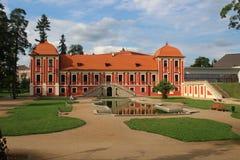 Castillo de Ostrov Imágenes de archivo libres de regalías