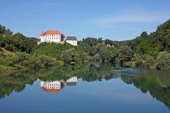 Castillo de Ozalj, Croacia Foto de archivo libre de regalías
