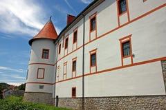 Castillo de Ozalj, Croacia Imágenes de archivo libres de regalías