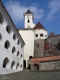 Castillo de Palanok Imagenes de archivo