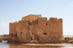 Castillo de Paphos Fotografía de archivo libre de regalías