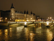 Castillo de París fotografía de archivo