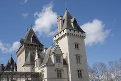 Castillo de Pau, Francia fotografía de archivo libre de regalías