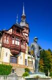 Castillo de Peles, Rumania Imagen de archivo