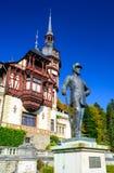 Castillo de Peles, Rumania Fotografía de archivo libre de regalías