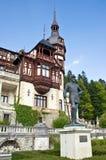 Castillo de Peles. Sinaia, Rumania. Imagenes de archivo