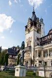Castillo de Peles. Sinaia, Rumania. Fotografía de archivo libre de regalías
