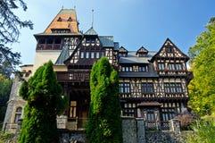 Castillo de PeliÈor. Sinaia, Rumania. Fotografía de archivo