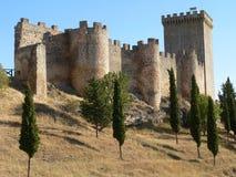 Castillo de Penaranda, Burgos ( Spain ). Penaranda de Duero Castle, Burgos Province, Castile and Leon, Spain Stock Images