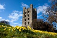 Castillo de Penrhyn Fotos de archivo libres de regalías