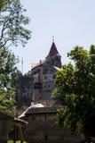 Castillo de Pernstejn Fotografía de archivo libre de regalías