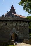 Castillo de Pernstejn Foto de archivo libre de regalías