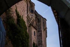 Castillo de Pernstejn Imágenes de archivo libres de regalías