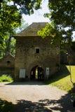 Castillo de Pernstejn Fotos de archivo libres de regalías