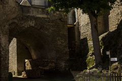 Castillo de Pernstejn Imagen de archivo