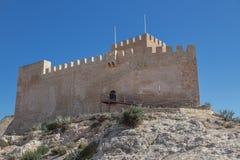Castillo de Petrer Foto de archivo