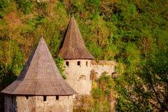 Castillo de piedra antiguo Imagen de archivo
