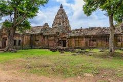 Castillo de piedra de la arena, phanomrung foto de archivo