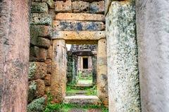 Castillo de piedra en Tailandia Imagen de archivo libre de regalías