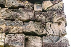 Castillo de piedra en Tailandia Fotografía de archivo