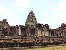 Castillo de piedra de Phimai, Tailandia Fotografía de archivo