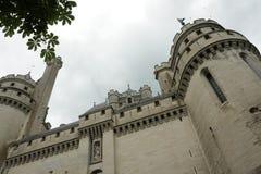 Castillo de Pierrefonds Foto de archivo libre de regalías