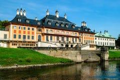 Castillo de Pillnitz Fotos de archivo libres de regalías