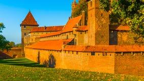 Castillo de Polonia en otoño; 2019 fotos de archivo libres de regalías