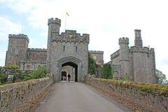 Castillo de Powderham, Devon fotos de archivo