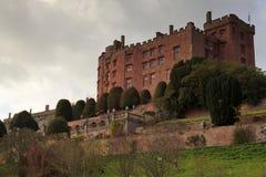 Castillo de Powys Imagen de archivo libre de regalías