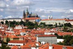 Castillo de Prag fotos de archivo libres de regalías