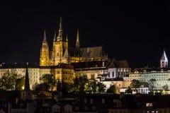 Castillo de Praga Fotografía de archivo