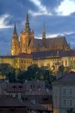 Castillo de Praga Fotografía de archivo libre de regalías