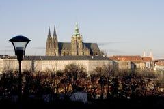 Castillo de Praga imagenes de archivo