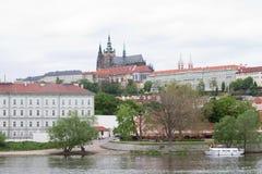 Castillo de Praga Imagen de archivo libre de regalías
