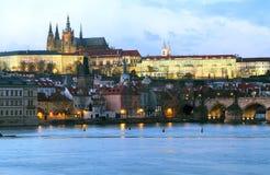 Castillo de Praga Foto de archivo