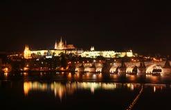 Castillo de Praga fotos de archivo