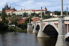 Castillo de Praga Foto de archivo libre de regalías