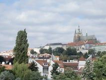 Castillo de Praga, Praga Imagen de archivo