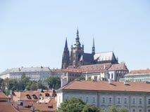 Castillo de Praga, Praga Imagenes de archivo