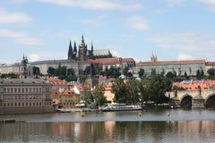 Castillo de Praga en República Checa Fotos de archivo