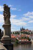 Castillo de Praga en República Checa Imágenes de archivo libres de regalías