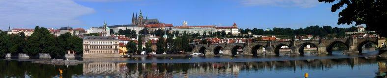 Castillo de Praga (Hradcany) Foto de archivo libre de regalías
