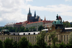 Castillo de Praga, Praga, República Checa Fotografía de archivo libre de regalías