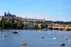 Castillo de Praga, República Checa imagenes de archivo