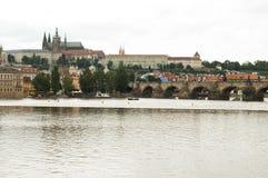 Castillo de Praga, República Checa Imagen de archivo libre de regalías