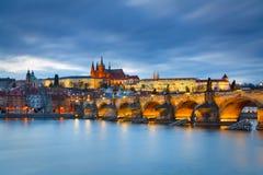 Castillo de Praga, República Checa Fotografía de archivo