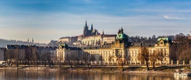 Castillo de Praga - Praga, República Checa, Europa imagen de archivo libre de regalías