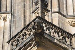 Castillo de Pragu Foto de archivo libre de regalías