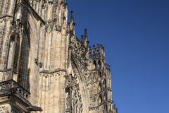Castillo de Pragu Imagen de archivo libre de regalías